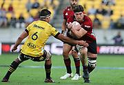Crusaders Scott Barrett. Super Rugby Aotearoa. Hurricanes v Crusaders, Sky Stadium, Wellington. Sunday 11th April 2021. Copyright photo: Grant Down / www.photosport.nz