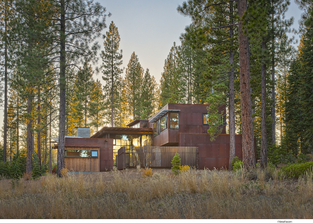 Contemporary Residential Home 155 Martis Camp by Faulkner Architects, Ethan Allen Interiors, Truckee, CA