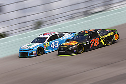 November 17, 2018 - Homestead, Florida, U.S. - Martin Truex, Jr (78) takes to the track to practice for the Ford 400 at Homestead-Miami Speedway in Homestead, Florida. (Credit Image: © Justin R. Noe Asp Inc/ASP)