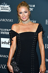 Paris Hilton attends the Harper's Bazaar Icons by Carine Roitfeld celebration at The Plaza Hotel in New York, NY on September 8, 2017.  (Photo by Stephen Smith/SIPA USA)