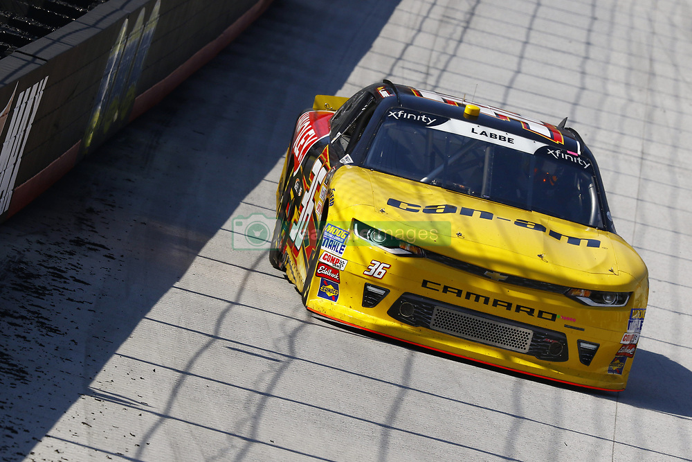 April 13, 2018 - Bristol, Tennessee, United States of America - April 13, 2018 - Bristol, Tennessee, USA: Alex Labbe (36) brings his car down the backstretch during final practice for the Fitzgerald Glider Kits 300 at Bristol Motor Speedway in Bristol, Tennessee. (Credit Image: © Chris Owens Asp Inc/ASP via ZUMA Wire)