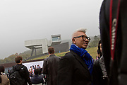 Guests attend the opening ceremony of the Sifang Art Museum in Nanjing, Jiangsu Province, China on 02 November, 2013.