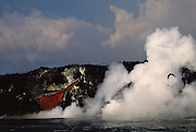 Volcanic Eruption - February 1995<br /> Cabo Hammond<br /> Fernandina Island, Galapgos, ECUADOR. South America