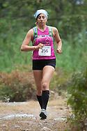 Kerhonkson, New York - Sara Wenger runs through Minnewaska State Park Preserve during the Shawangunk Ridge Trail Run/Hike 20-mile race on Sept. 20, 2014.