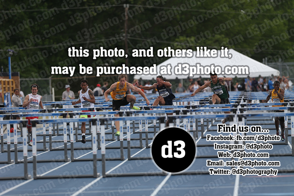 2021 NCAA Division III Outdoor Track and Field Championships 2021 NCAA OTF - Event 16 - Men 110 Hurdles - Finals