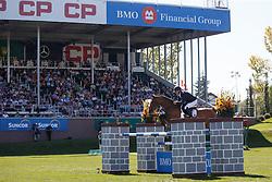 Bost Roger Yves, (FRA), Qoud Coeur de la Loge<br /> BMO Nations Cup<br /> Spruce Meadows Masters - Calgary 2015<br /> © Hippo Foto - Dirk Caremans<br /> 12/09/15