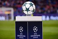 The official ball of UEFA Champions League at Vicente Calderon Stadium in Madrid. November 01, Spain. 2016. (ALTERPHOTOS/BorjaB.Hojas)