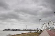 De nieuwbouwwijk IJburg bij Amsterdam.<br /> <br /> The new neighborhood IJburg near Amsterdam.