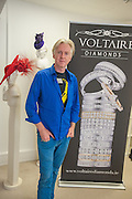 PHILIP TREACY; S, Philip Treacy to create Bespoke Voltaire Daimonds ring collection. Philip Treacy showroom. London. 19 July 2012.
