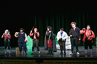Peter Pan dress rehearsal on September 11, 2017 . The show was presented at Norwood High in Norwood MA