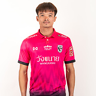 THAILAND - JUNE 06: Chaiyapat Honbanleng #1 of Chainat Hornbill FC on June 06, 2019.<br /> .<br /> .<br /> .<br /> (Photo by: Naratip Golf Srisupab/SEALs Sports Images/MB Media Solutions)