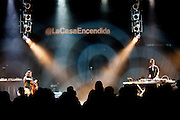 MARINA ROSENFELD and  OKKYUNG LEE perform at the Electronica en Abril festival 2014