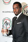 October 16, 2012-New York, NY : Music Executive/Recording Artist/Actor Sean Combs aka P. Diddy at the 3rd Annual National Action Network Triumph Awards held at Jazz at Lincoln Center on October 16, 2012 in New York City. The Triumph Awards were established by the National Action Network to recognize the contributions of humanitarians from all walks of life and to encourage future generations to drum majors for justice. (Terrence Jennings)