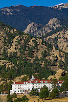 Stanley Hotel, Estes Park (in the Rocky Mountains), Colorado USA