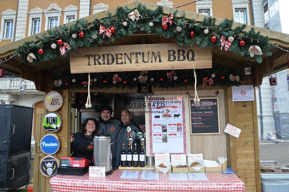 Mercatini di Natale Trento Bancarella15 Tridentum Bpq, piazza Fiera 27 novembre 2018  © foto Daniele Mosna