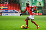 Charlton Athletic midfielder Tariqe Fosu (11) during the EFL Sky Bet League 1 match between Charlton Athletic and AFC Wimbledon at The Valley, London, England on 15 December 2018.