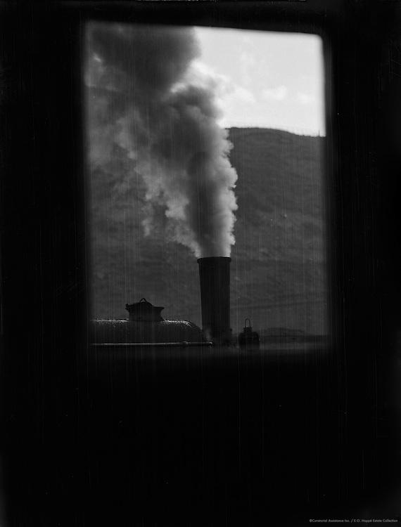 Train Engine and Smoke, Whitehaven, England, 1928