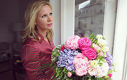 """Veronica Ferres releases a photo on Instagram with the following caption: """"Vielen Dank f\u00fcr die Blumen \ud83d\ude09\ud83d\udc90 #unbekannterabsender #heimlicherverehrer #howtomakewomenhappy #flowers #girlsbestfriend #happy #weekend #sunday #mood #prettyflowers"""". Photo Credit: Instagram *** No USA Distribution *** For Editorial Use Only *** Not to be Published in Books or Photo Books ***  Please note: Fees charged by the agency are for the agency's services only, and do not, nor are they intended to, convey to the user any ownership of Copyright or License in the material. The agency does not claim any ownership including but not limited to Copyright or License in the attached material. By publishing this material you expressly agree to indemnify and to hold the agency and its directors, shareholders and employees harmless from any loss, claims, damages, demands, expenses (including legal fees), or any causes of action or allegation against the agency arising out of or connected in any way with publication of the material."""