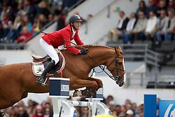 Bruynseels Niels, (BEL), Pommeau du Heup<br /> Furusiyya FEI Nations Cup presented by Longines<br /> Longines Jumping International de La Baule 2015<br /> © Hippo Foto - Dirk Caremans<br /> 15/05/15