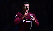 Matt Crooks of Northampton Town celebrates after he scores his teams 2nd goal to put his side 2-0 up. EFL Skybet Football League one match, Northampton Town v Portsmouth at the Sixfields Stadium in Northampton on Tuesday 12th September 2017. <br /> pic by Bradley Collyer, Andrew Orchard sports photography.