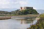 Greece, Peloponnese, Nauplia, Fortress on Bourtzi Island