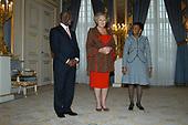 Hare Majesteit de Koningin ontvangt de Zuid-Afrikaanse president Mbeki