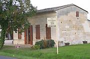 Chateau La Croix Meunier. Saint Emilion, Bordeaux, France