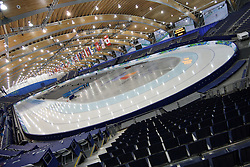 Olympic Winter Games Vancouver 2010 - Olympische Winter Spiele Vancouver 2010, Richmond Olympic Oval,  general view, overview, Uebersicht, Halle, Eishalle, Sportstaette,  Photo by Malte Christians / HOCH ZWEI / SPORTIDA.com.