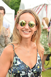LAVINIA BRENNAN at the Cartier Queen's Cup Final 2016 held at Guards Polo Club, Smiths Lawn, Windsor Great Park, Egham, Surrey on 11th June 2016.