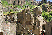 Armenia, Azat Valley, Monastery of Geghard,
