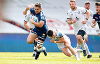 Caption Template Rugby Union - 2020 / 2021 Gallagher Premiership - Round 16 - Sale Sharks vs Gloucester - AJ Bell Stadium<br /> <br /> Rohan Janse van Rensburg of Sale Sharks<br /> <br /> Credit COLORSPORT/LYNNE CAMERON