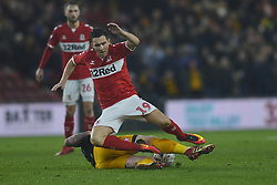 January 26, 2019 - Middlesbrough, North Yorkshire, United Kingdom - Boro's Stewart Downing pictured in action during the FA Cup match between Middlesbrough and Newport County at the Riverside Stadium, Middlesbrough on Saturday 26th January 2019. (Credit Image: © Mi News/NurPhoto via ZUMA Press)