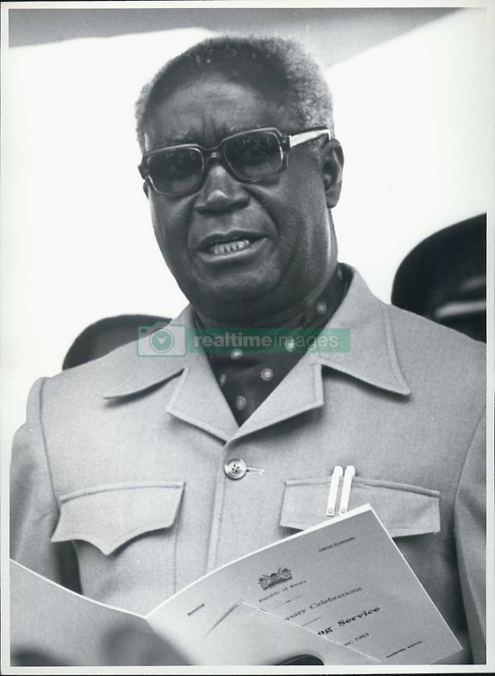Jan. 01, 1970 - Zambia: President Kenneth Kaunda of Zambia. (exact date unknown) (Credit Image: © Keystone Press Agency/Keystone USA via ZUMAPRESS.com)