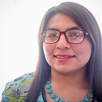 Navajo Preparatory School junior Nizhoni Tallas placed second in her category at the Navajo Nation Science Fair.