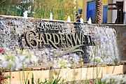 Anaheim Garden Walk Water Fountain Monument