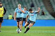 Brendan McKibbin. Waratahs v Chiefs. 2013 Investec Super Rugby Season. Allianz Stadium, Sydney. Friday 19 April 2013. Photo: Clay Cross / photosport.co.nz