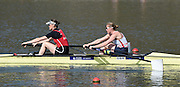 Caversham  Great Britain.<br /> GBR W2-, Bow Helen GLOVER and Heather STANNING, at the start<br /> 2016 GBR Rowing Team Olympic Trials GBR Rowing Training Centre, Nr Reading  England.<br /> <br /> Tuesday  22/03/2016 <br /> <br /> [Mandatory Credit; Peter Spurrier/Intersport-images]