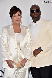Kris Jenner, Corey Gamble attend the amfAR Cannes Gala 2019 at Hotel du Cap-Eden-Roc on May 23, 2019 in Cap d'Antibes, France. Photo by Lionel Hahn/ABACAPRESS.COM