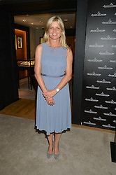 The MARCHIONESS OF MILFORD HAVEN at the draw for the Jaeger-LeCoultre Gold Cup held at Jaeger-LeCoultre, 13 Old Bond Street, London on 8th June 2015.