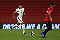 TIRANA, ALBANIA - MARCH 28: Jesse Lingard of England during the FIFA World Cup 2022 Qatar qualifying match between Albania and England at the Qemal Stafa Stadium on March 28, 2021 in Tirana, Albania. Sporting stadiums around Europe remain under strict restrictions due to the Coronavirus Pandemic as Government social distancing laws prohibit fans inside venues resulting in games being played behind closed doors (Photo by MB Media)