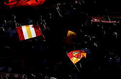 October 20, 2018 - Rome, Italy - AS Roma v Spal - Serie A.Roma supporters of Curva Sud at Olimpico Stadium in Rome, Italy on October 20, 2018. (Credit Image: © Matteo Ciambelli/NurPhoto via ZUMA Press)