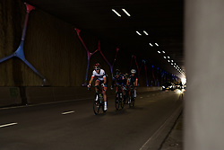 Allie Dragoo (Cervélo Bigla) chases back to the lead group through Emmen tunnel at Ronde van Drenthe 2017. A 152 km road race on March 11th 2017, starting and finishing in Hoogeveen, Netherlands. (Photo by Sean Robinson/Velofocus)