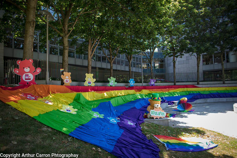NO FEE PICTURES<br /> 6/6/18 at the launch of the Dublin LGBTQ Pride 2018 Festival, which runs from 21st to 30th June 2018, at Wood Quay, Dublin. 35 Years of Dublin Pride Parade. Picture:Arthur Carron