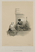 Egypt and Nubia, Volume III: The Letter-Writer, Cairo, 1849. Louis Haghe (British, 1806-1885), F.G.Moon, 20 Threadneedle Street, London, after David Roberts (British, 1796-1864). Color lithograph;