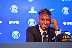 Paris: Neymar Press Conference, 4 August 2017