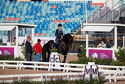 Langehanenberg, Helen (GER);<br /> Theodorescu, Monica (GER) Damsey FRH<br /> Göteborg - European Championships 2017<br /> © www.sportfotos-lafrentz.de/Stefan Lafrentz