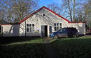 St Michael's hall location BBC TV comedy The Detectorists, Framlingham, Suffolk, England, UK
