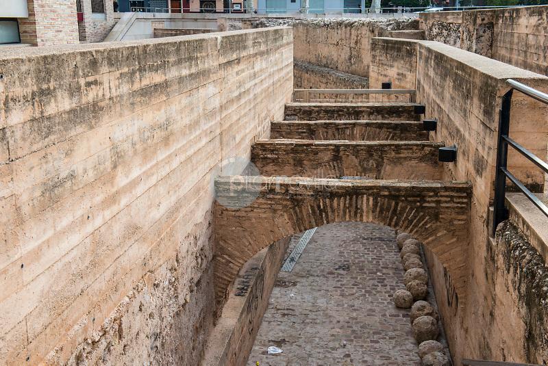 Murallas de Alcira (Alzira).  Valencia. España ©Antonio Real Hurtado / PILAR REVILLA