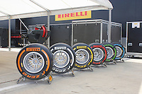 MOTORSPORT - F1 2013 - BRITISH GRAND PRIX - GRAND PRIX D'ANGLETERRE - SILVERSTONE (GBR) - 28 TO 30/06/2013 - PHOTO : FREDERIC LE FLOC'H / DPPI - OFFICIAL RANGE OF PIRELLI TYRES