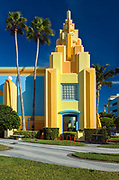 Art Deco Architecture.Ron Jon Surf Shop.Cocoa Beach.Florida